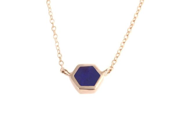 Shahla Karimi Mini Honey Necklace With Stone