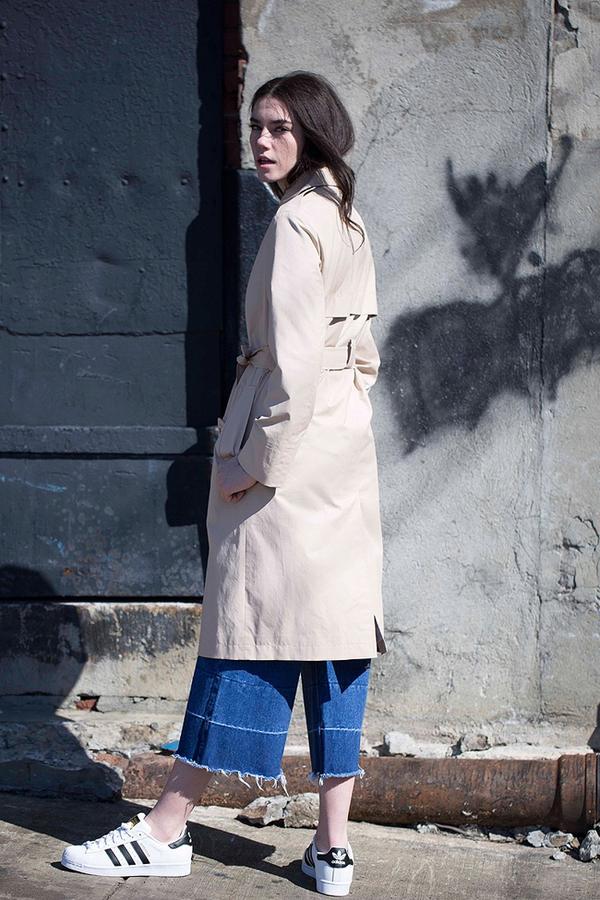 Lookast Cotton Trench Coat