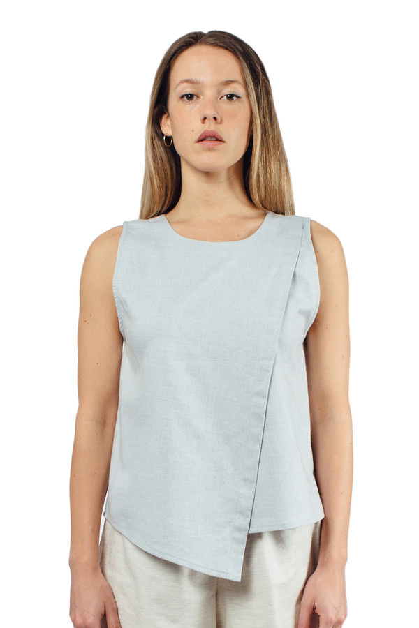 Altai Tank Blue Chambray