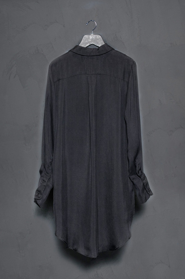KES Button Up Silk Gauze