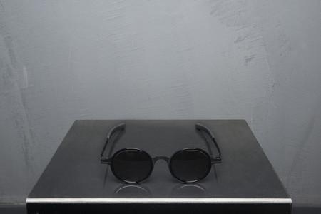 Damir Doma Mykita Grey Solid Round Sunglasses