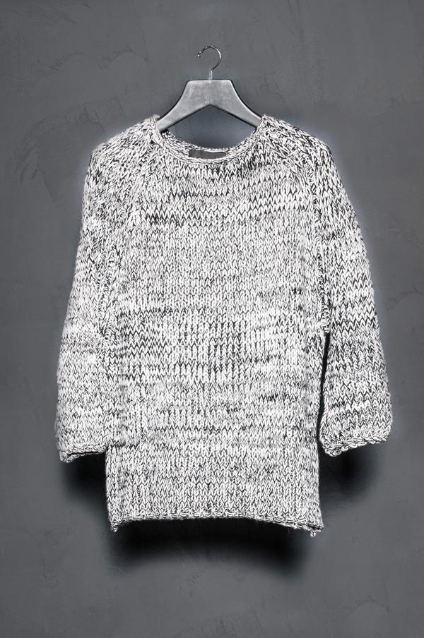 KES Raglan Marled Sweater
