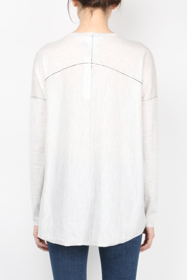 Paychi Guh Long Sleeve Boxy Tee Sweater