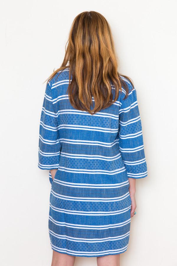 ace & jig deck dress in blue jean