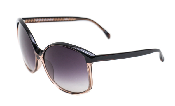 Matthew Williamson X Linda Farrow Two Toned Oversized Sunglasses