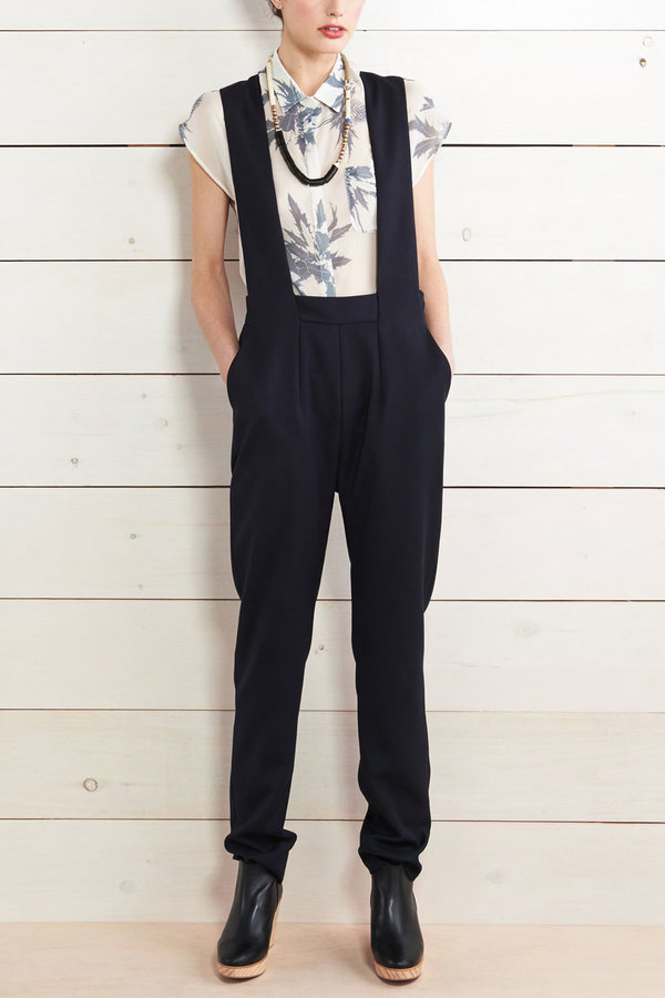 WHiT Pinafore Jumpsuit