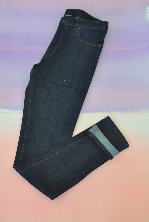 Courtshop High Waist Skinny jean in Indigo Rinse