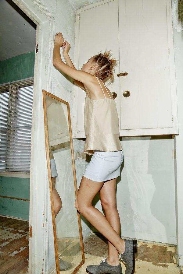 Kimem Poplin Skirt