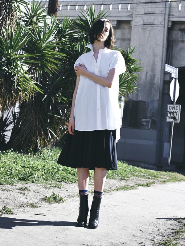 Kimem Dusty Pleated Skirt