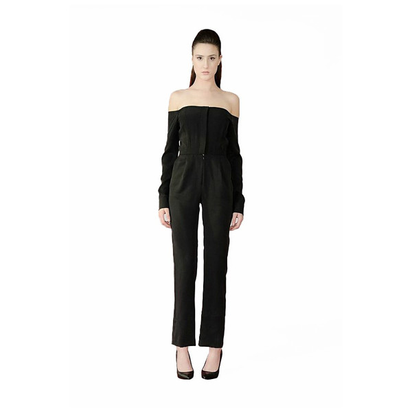 RAINE OFF THE SHOULDER JUMPSUIT