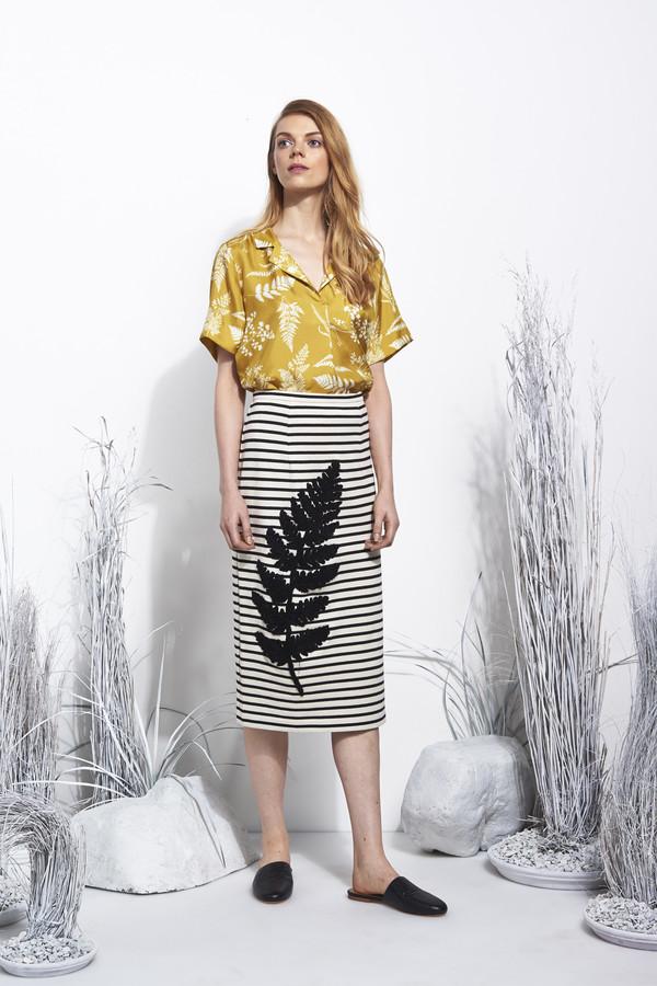 Whit Nox Shirt in Fern Print