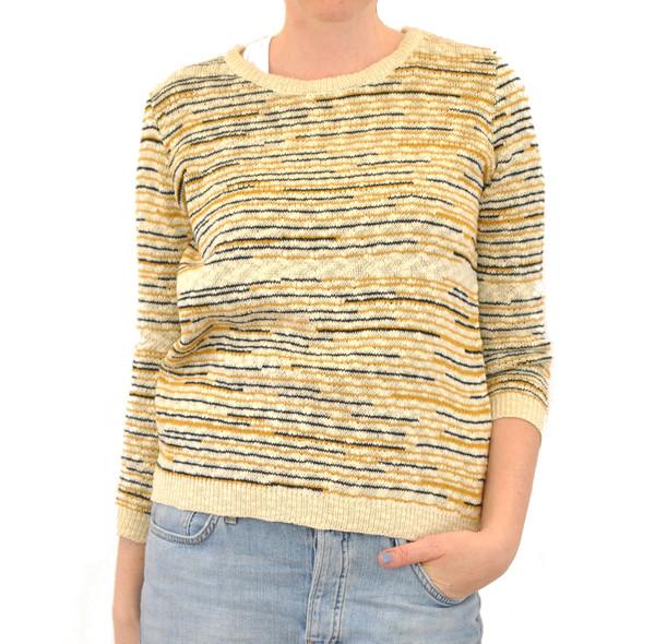 The Korner Striped Lightweight Sweater
