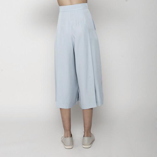 7115 by Szeki Summer Culotte- Sky Blue SS16