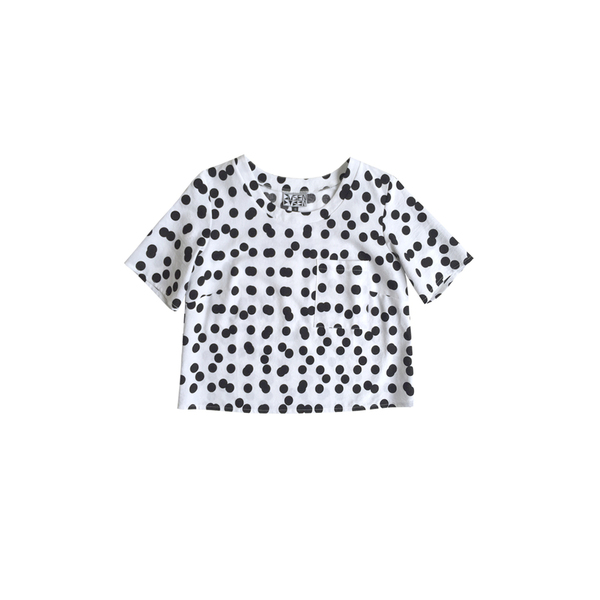 DOUBLE DOT POCKET TEE