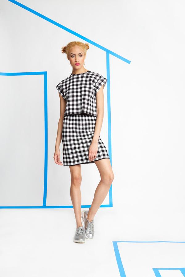 Kempner Annie Sweater Skirt