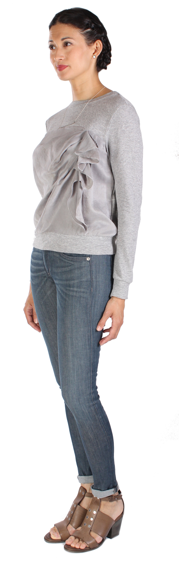 Clu Paneled Sweat Top
