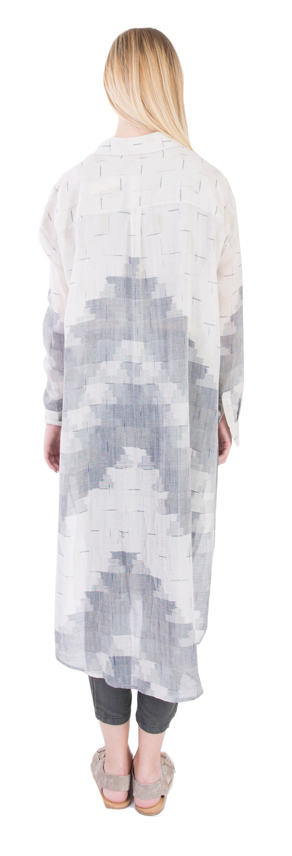 Long Button Up Kurta
