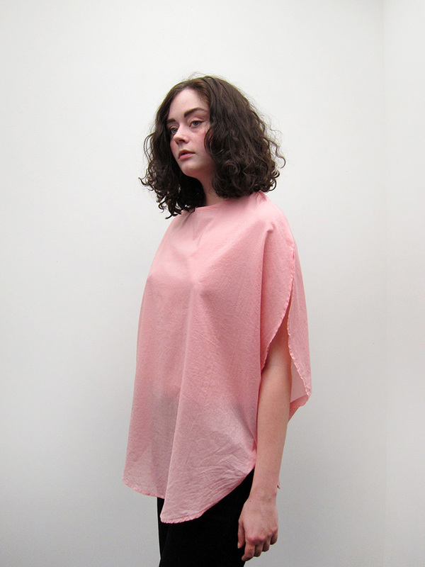 Cosmic Wonder Koromo Circular Blouse, Natural Pink