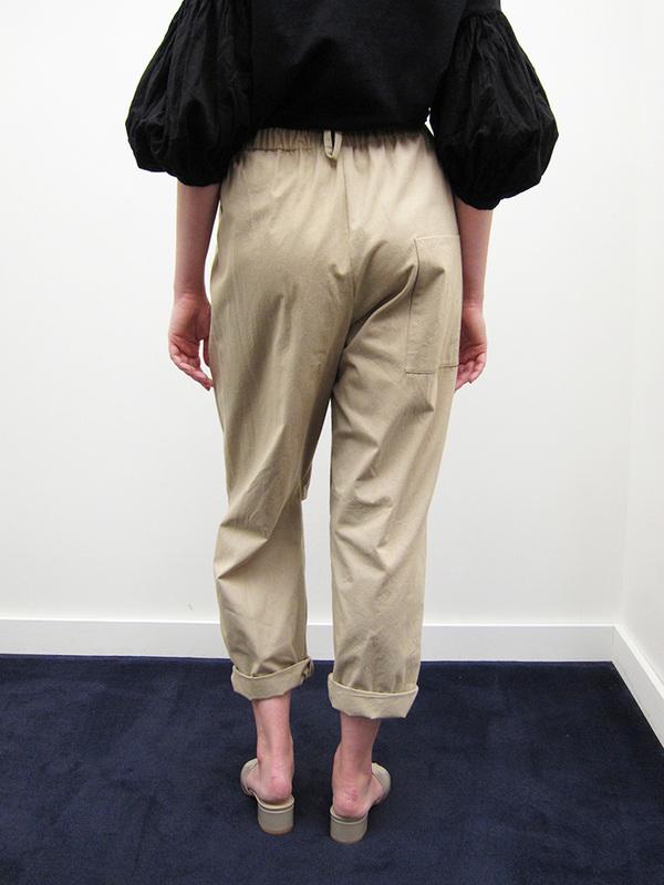 Unisex Rowena Sartin Split Knee Pant w/Back Loop, Khaki