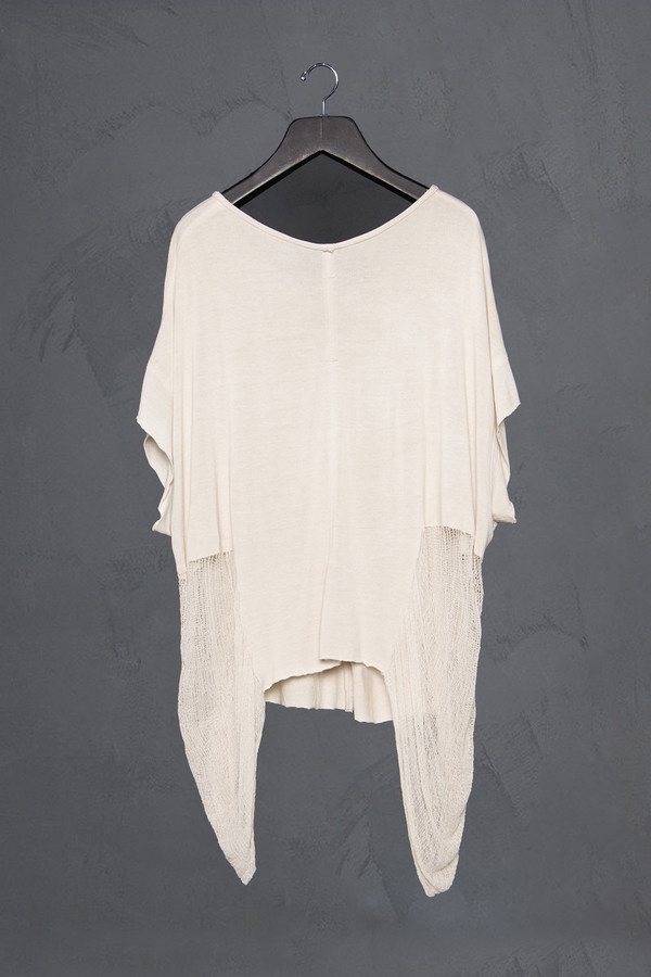 Raquel Allegra Butterfly Shred Top