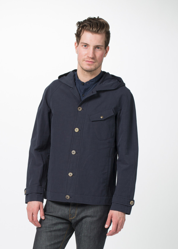 Men's Shockoe Hooded Rain Jacket