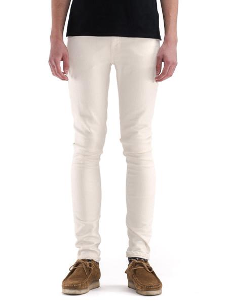 Men's Nudie Jeans Skinny Lin | Ecru Twill