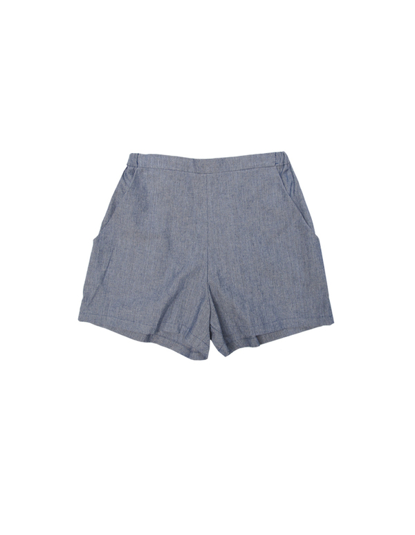 Ali Golden Chambray Shorts