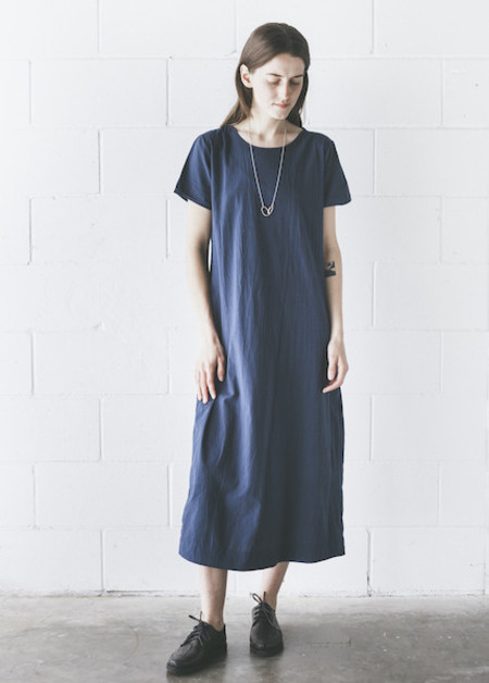 Uzi -  Tee Dress in Navy