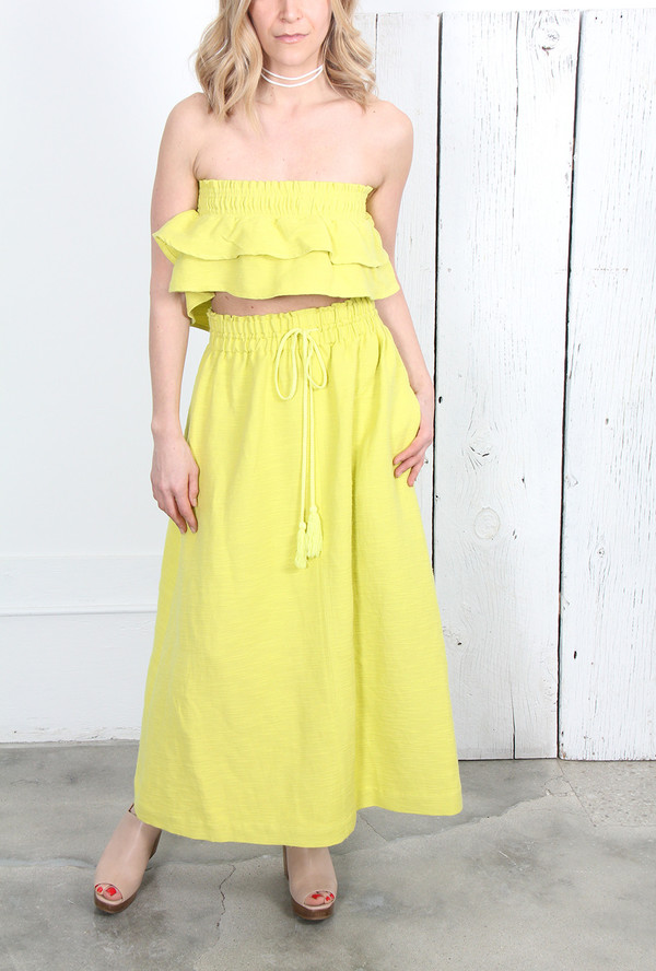 Apiece Apart NAMBE SKIRT DRESS