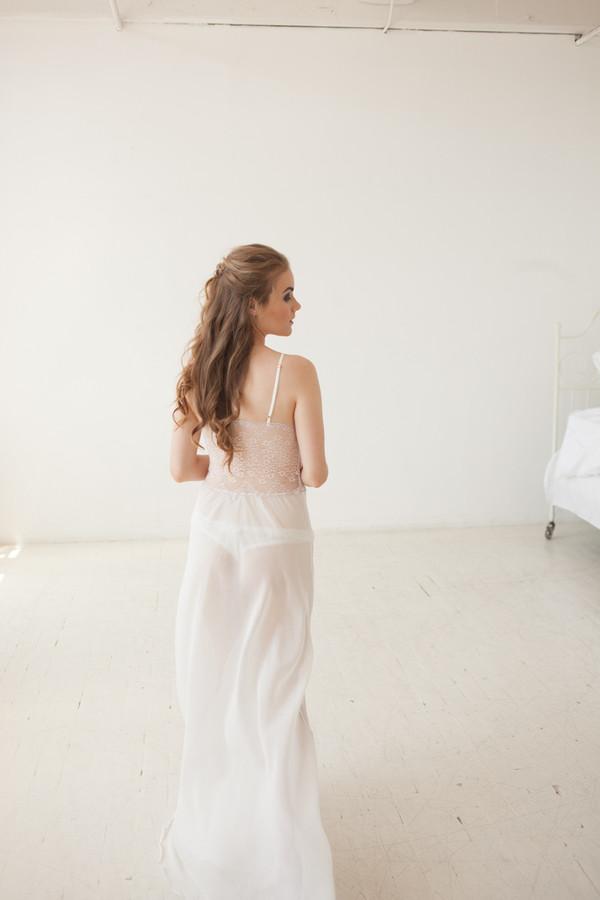 Salua Atelier Trinitaria Long Gown