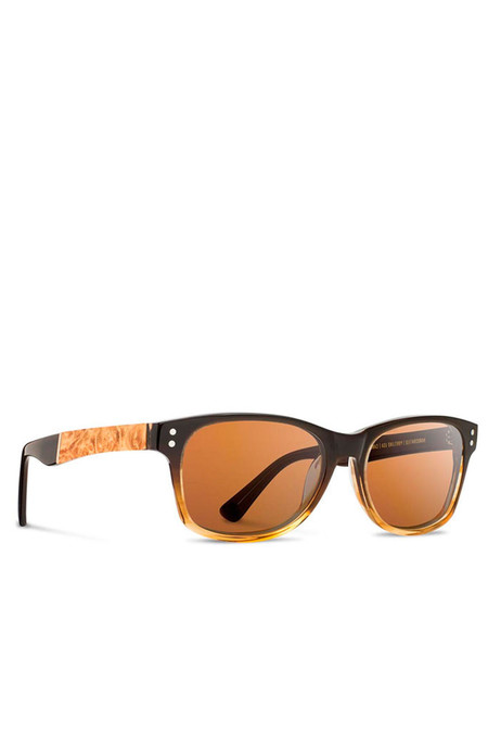 Shwood Cannon Sweet Tea Maple Sunglasses