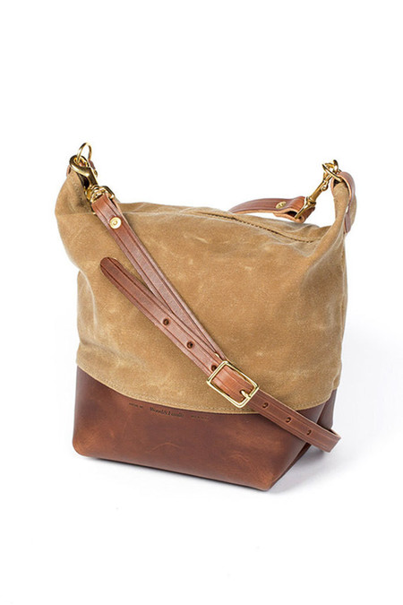 Wood & Faulk Field Bag High Desert Sage