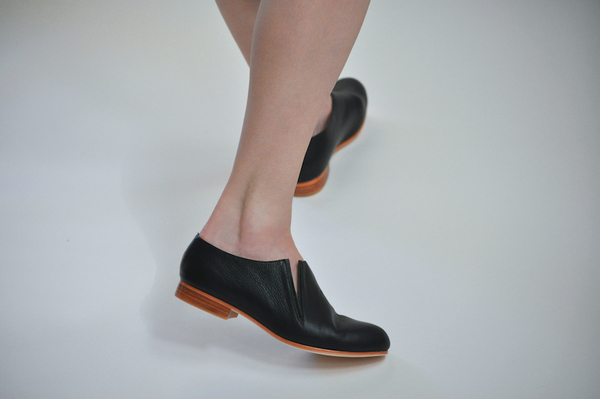 Palatine Forte Open Bootie - black leather