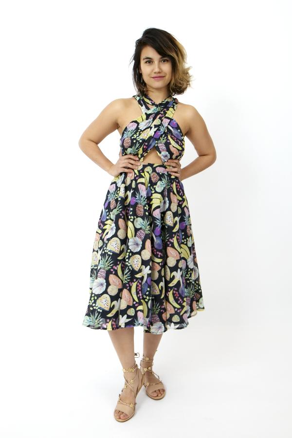 Rachel Antonoff Samantha Halter Wrap Dress