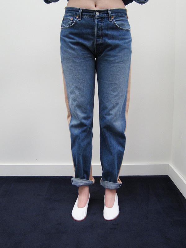 Unisex BLESS Jeans pleat