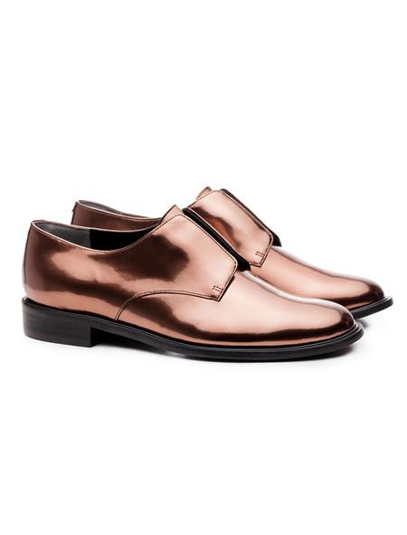 Robert Clergerie Jam Oxfords Copper