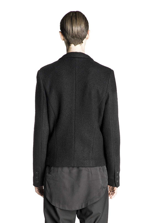 Men's Chapter Lucian Black Coat