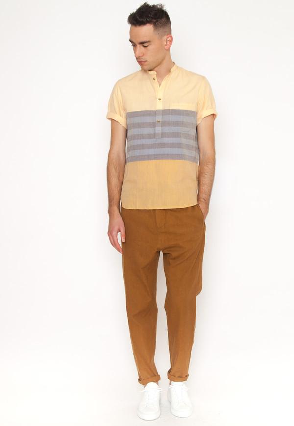 Men's New Market Goods Gabtoli Popover Shirt