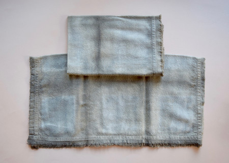 Rise & Ramble: Charcoal Shibori Dyed Napkin Set