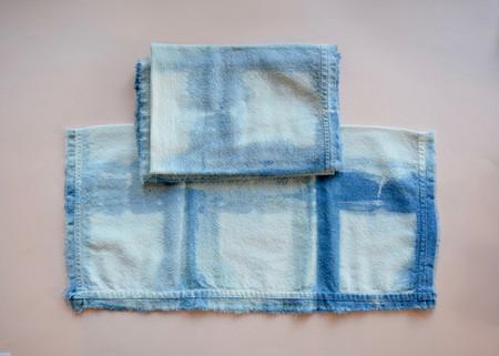 Rise & Ramble: Indigo Shibori Dyed Napkin Set