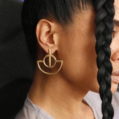 Alynne Lavigne Fan Earrings