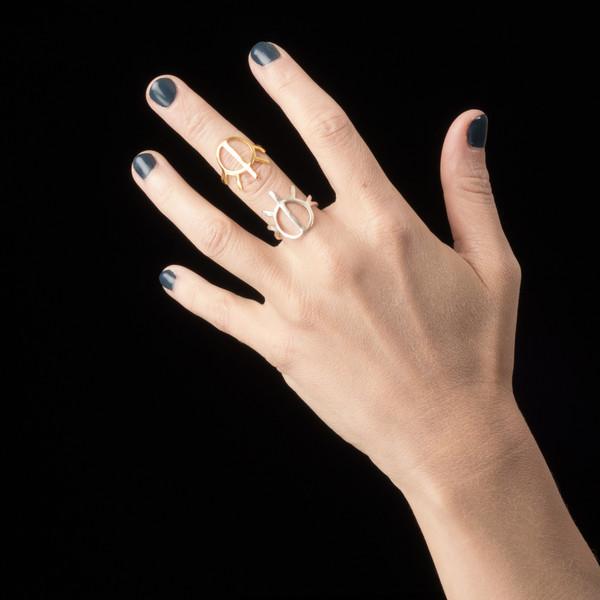 Alynne Lavigne Half Sun Ring