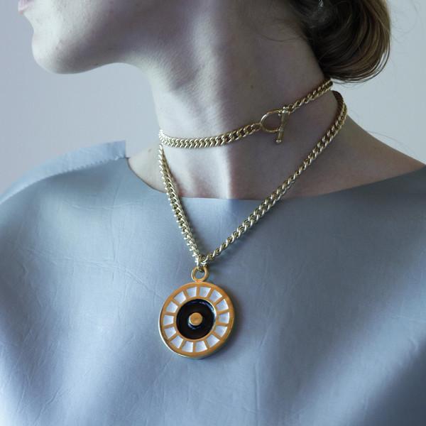ALYNNE LAVIGNE - Enamel Medallion