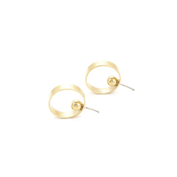 Alynne Lavigne Small Side Hoops