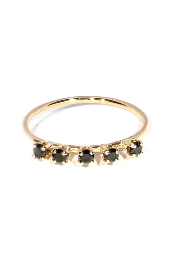 Loren Stewart 5 Diamond Prong Set Ring