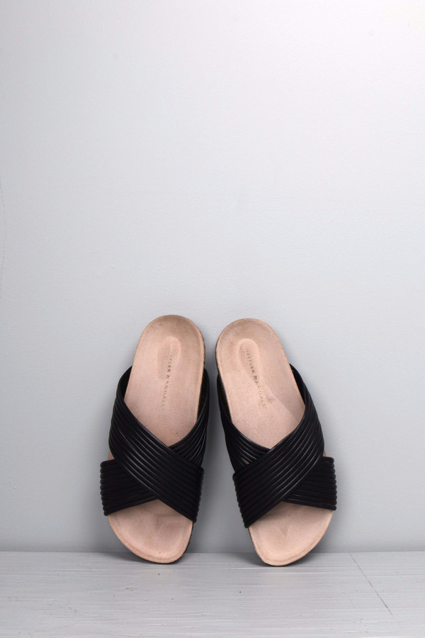 Loeffler Randall Petra Cross Strap Sandal