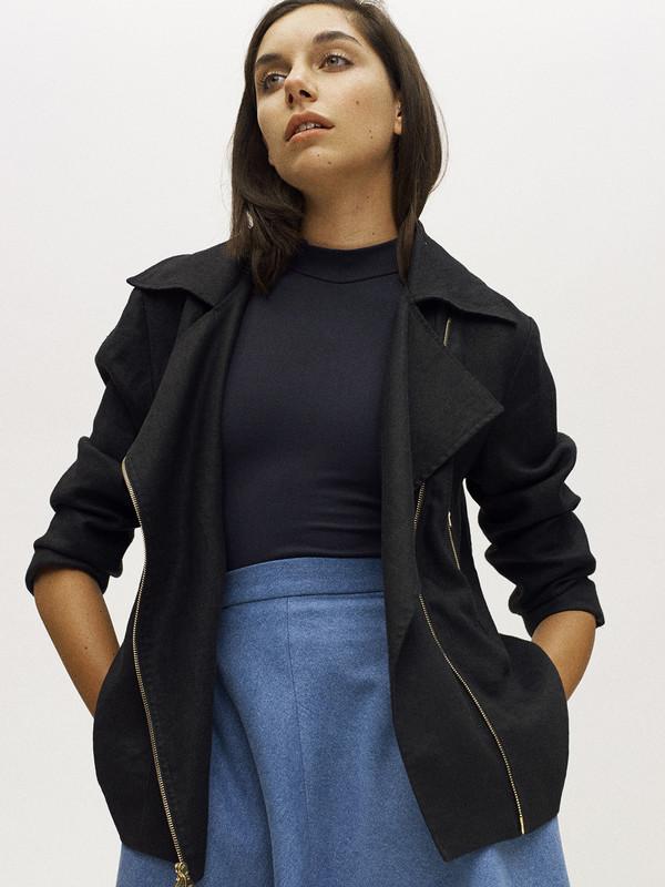 Eliza Faulkner Moto Jacket