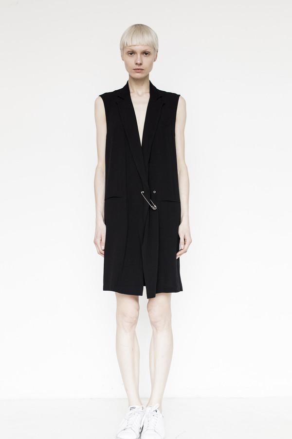 Assembly New York Crepe Vest Dress