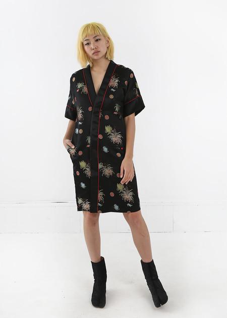 I Waited For You Kimono Tea Dress