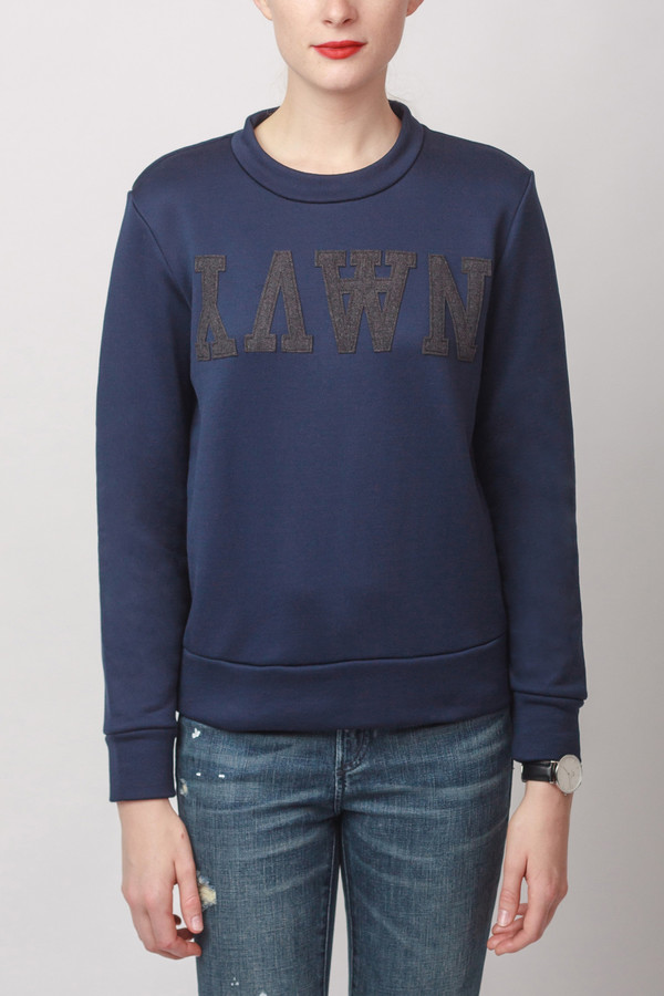 Wood Wood Maya Sweatshirt Navy